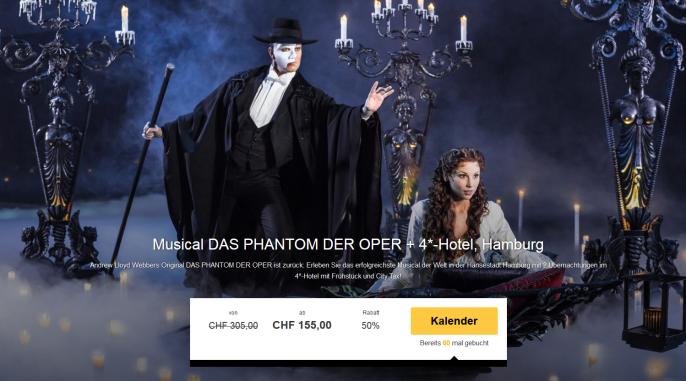 hamburg musical das phantom der oper