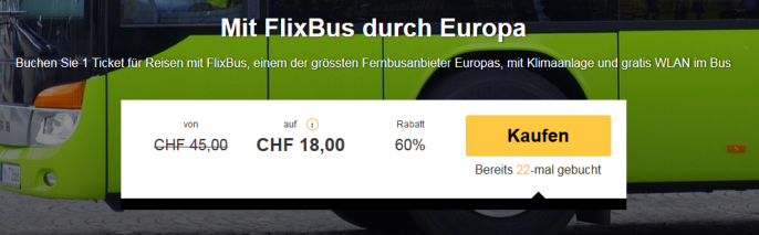 Flixbus Schnäppli