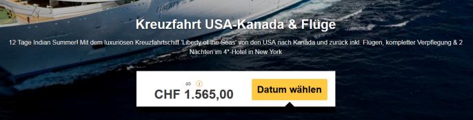 Kreuzfahrt Liberty of the Seas