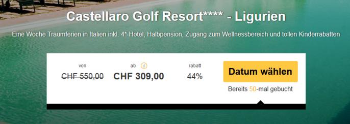 Ligurien Castello Golf Resort