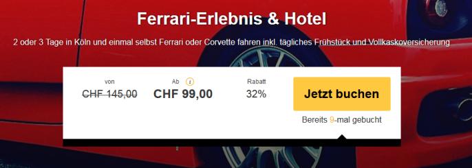 Ferrari Spritztour