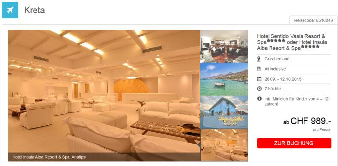 Luxus auf Kreta