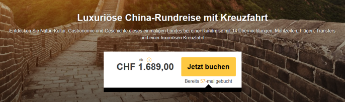 Rundreise durch China