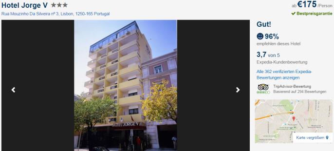 Städtetrip nach Lissabon