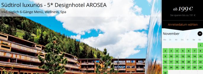 Luxus Wellness in Südtirol