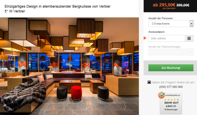 Luxushotel in Verbier