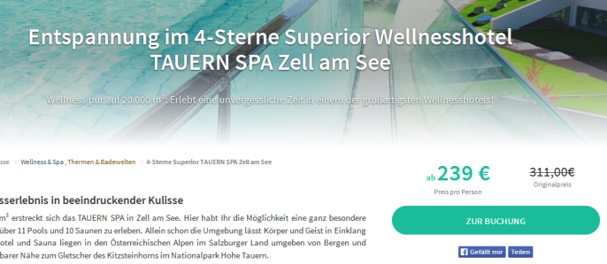Tauern Spa Zell am See