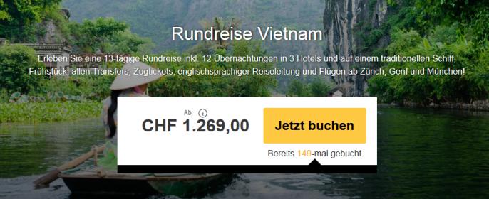 Vietnam Rundreise
