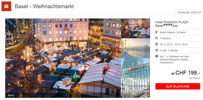 Weihnachtsmark in Basel