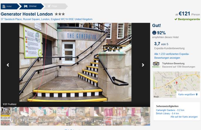 London Hostel