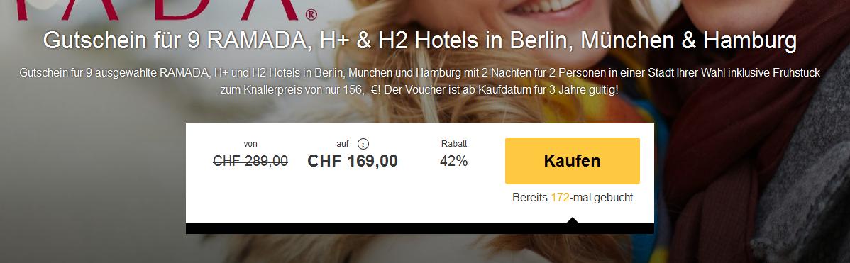 Ramada Hotel Gutschein Berlin
