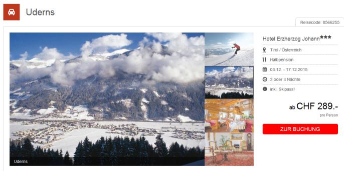 Skiferien in Tirol