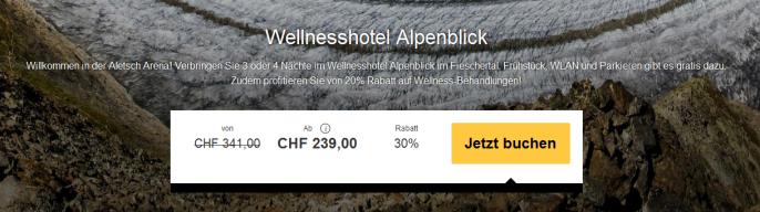 Wellness- und Skiferien in der Schweiz