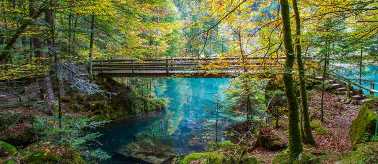 Die schönsten Bergseen der Schweiz Blausee
