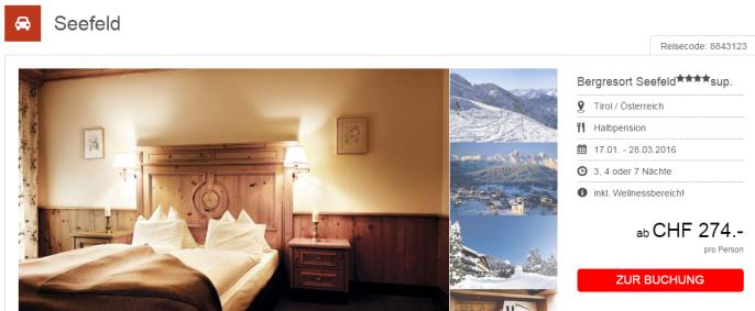 Ski- und Wellnesskombi