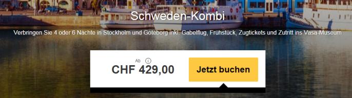 Stockholm und Göteborg