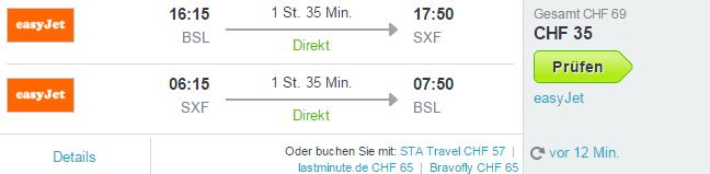 Berlin Flug