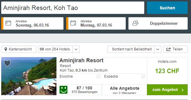 Traumhotel auf Koh Tao