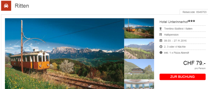 Erholung in Trentino