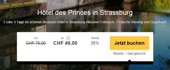 Ferien in Strassburg