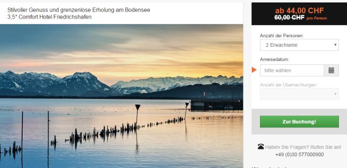 Last Minute Bodensee Schnäppli