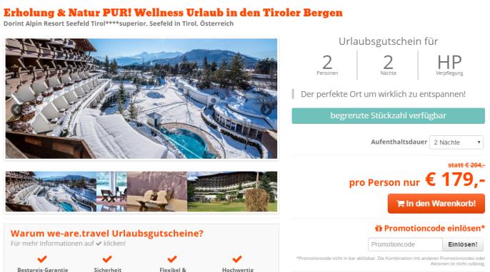 Wellness in den Tiroler Bergen