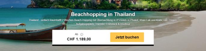 beachhopping thailand