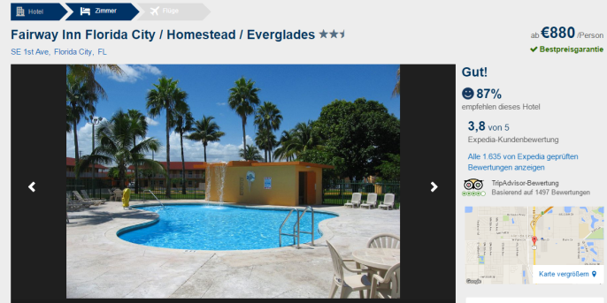 Miami 13 tage inkl hotel flug f r nur 958 chf for Designhotel korsika