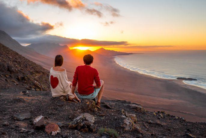 Fuerteventura im Winter Flug