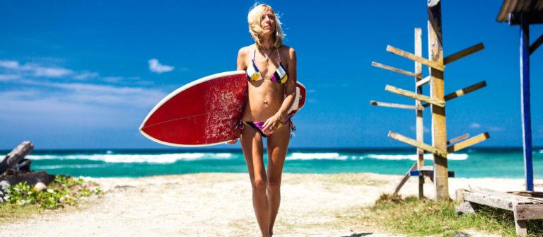 Ferien auf Bali Strand