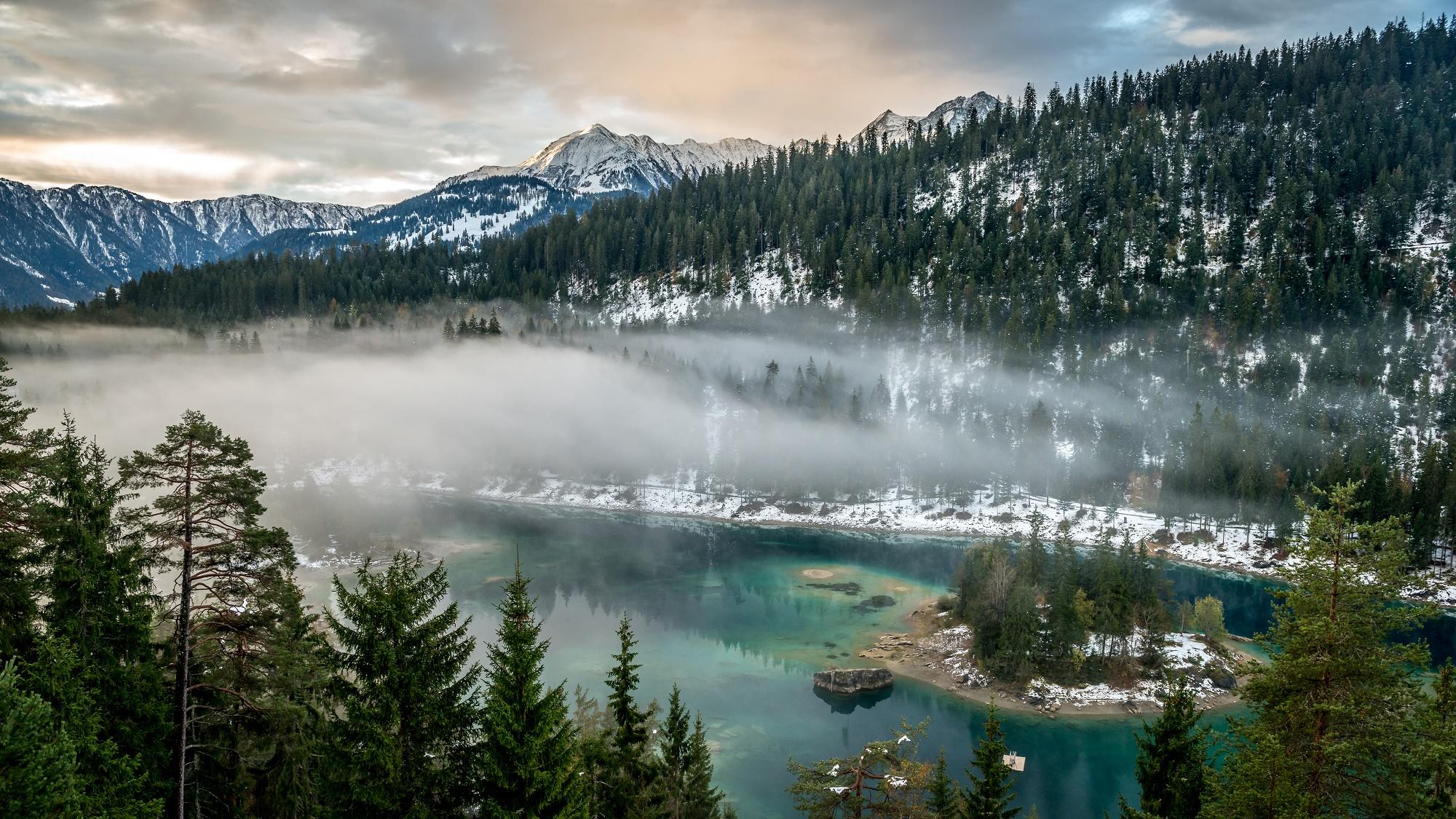Winterzauber Am Caumasee Holidayguru Ch